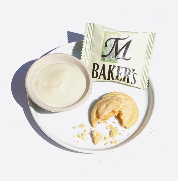 M Baker's Cookie: Custard Flavor (14 Pieces)