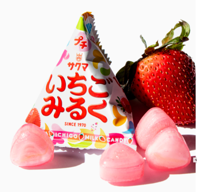 Petite Strawberry Milk Candy (30 Packs)