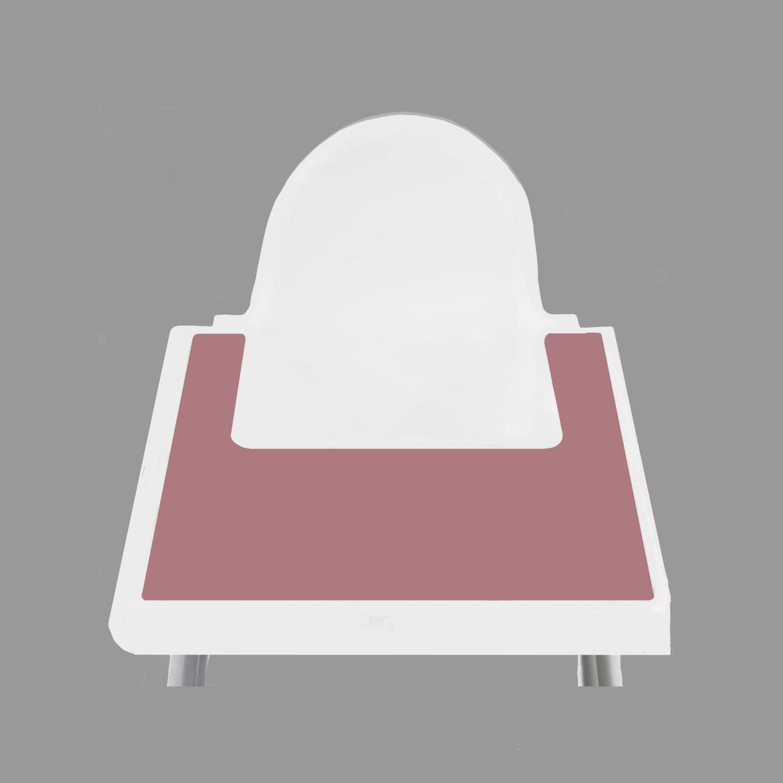Dusty Mauve IKEA Highchair Placemat