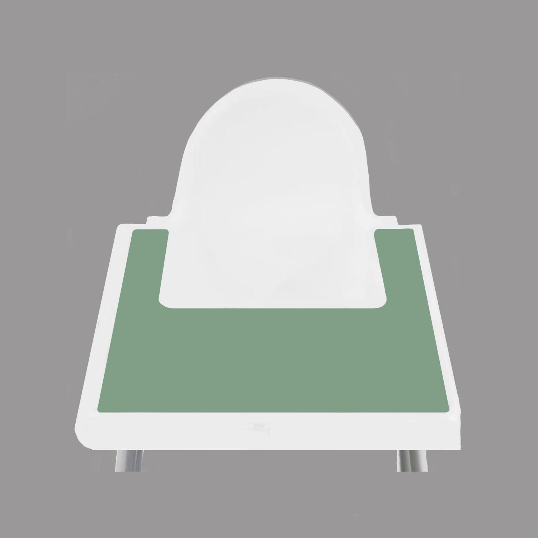 Sage Green IKEA Highchair Placemat