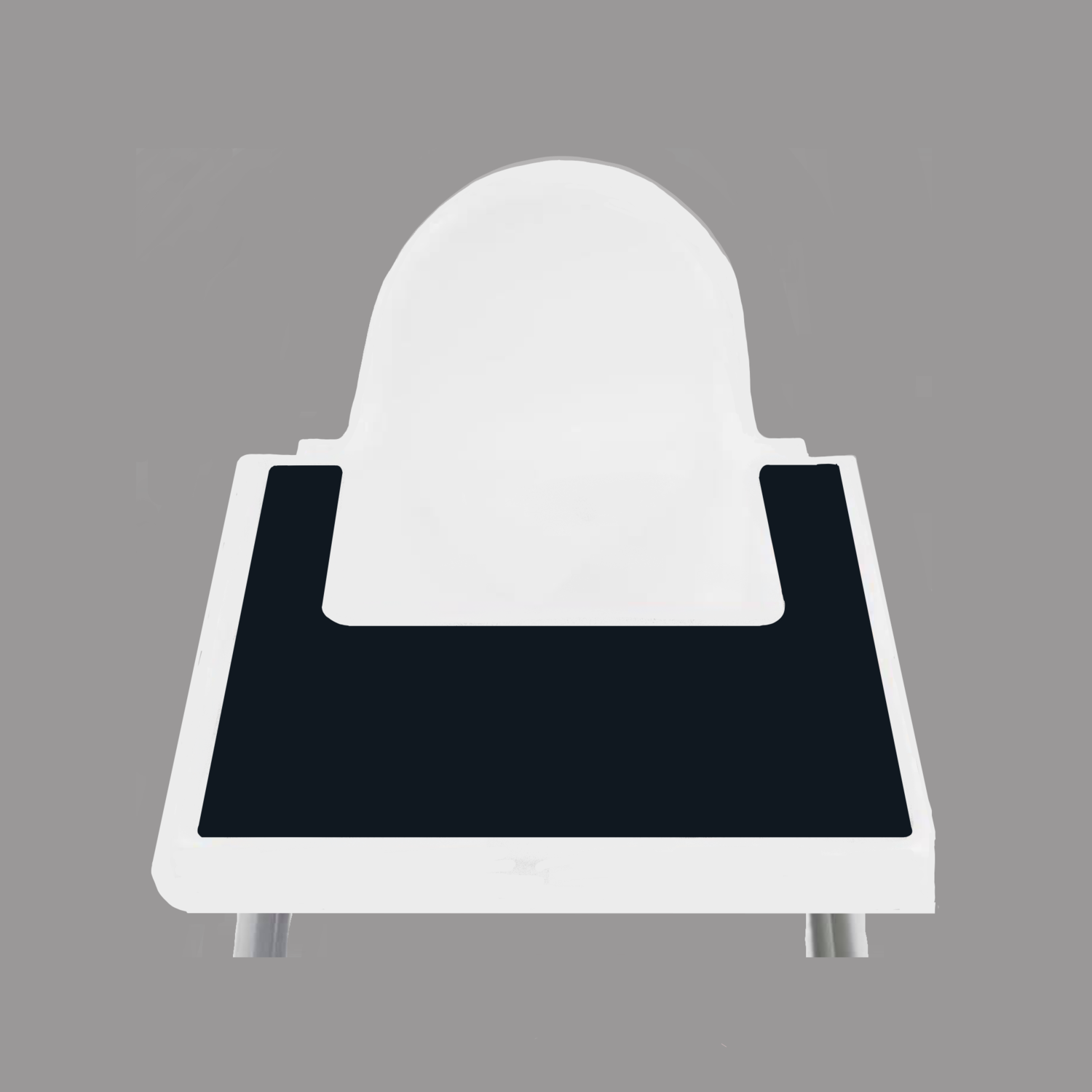 Onyx Black IKEA Highchair Placemat