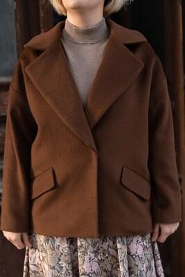"""Trumpas """"oversize"""" paltukas"""