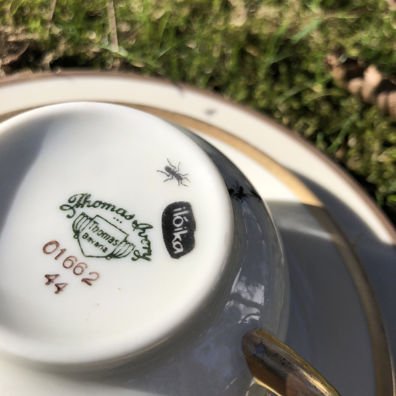 Kaffee-Set >Ameisen< 3 teilig