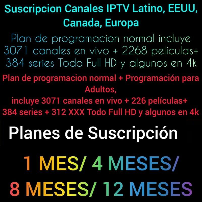 Canales Iptv2020