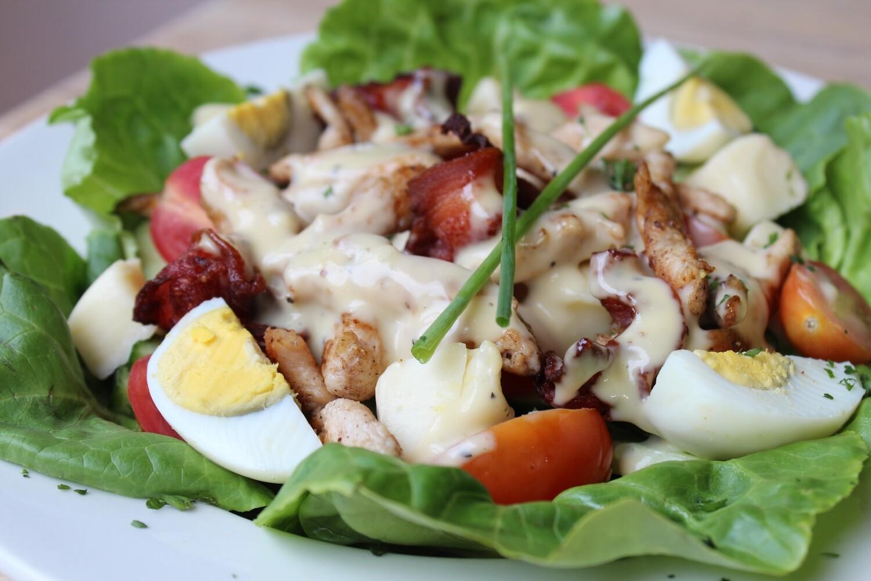 Chef's Haloumi Salad