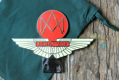 Vintage Enamel Car Badge (reproduction)