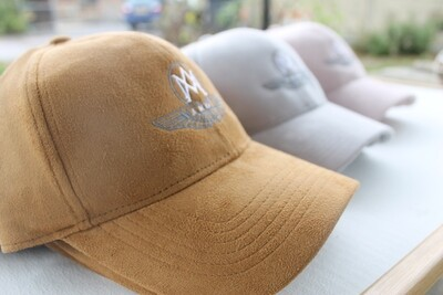 Baseball Cap - Suedette