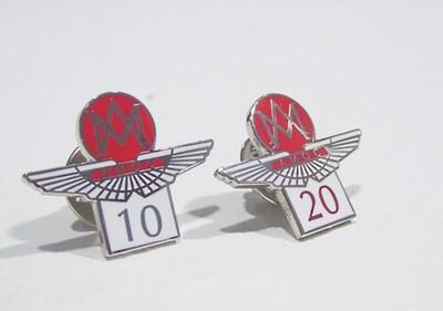 Loyalty Pins: 10 and 20 Years of Membership