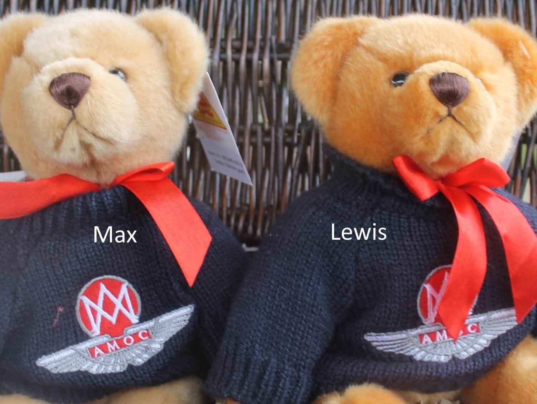 AMOC Teddies Lewis & Max