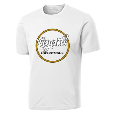 Legends Alternative White Athletic T Shirt