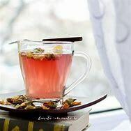 Cardamom Rose Whole Plant Organic Hemp Tea  15 Servings Pouch / 10 mg per serving