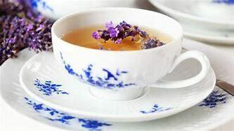 Earl Grey Lavender THC FREE Organic Hemp Tea  15 Servings Pouches / 5 mg per serving