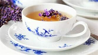 Earl Grey Lavender THC FREE Organic Hemp Tea Onesie Pouch 5 mg