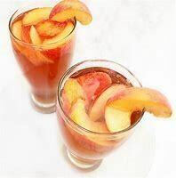 Peachy Keen' THC Free Organic Hemp Iced Brew Bag 6 Brew Bags per Pouch   Each Pouch serves 25 mg Hemp Ideal Sun Tea