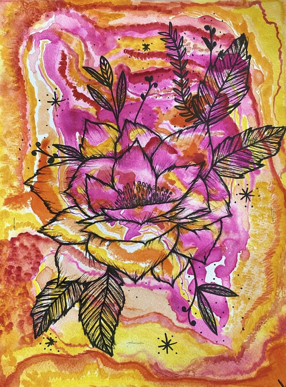 ilustrações de flores // plantas
