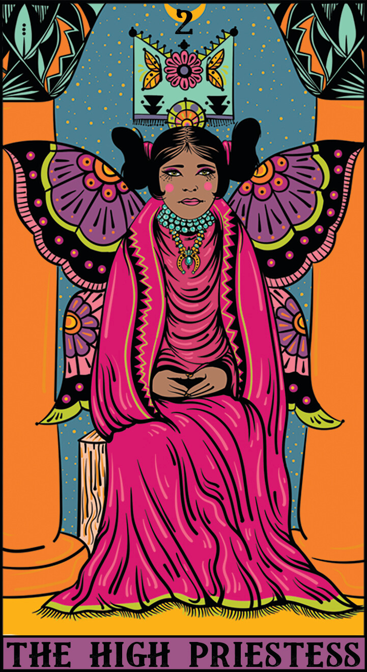 The High Priestess Print