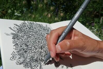 Atelier Floral doodling 2h30
