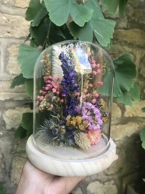 Atelier Cloche en fleurs séchées /1h30 à 2h15