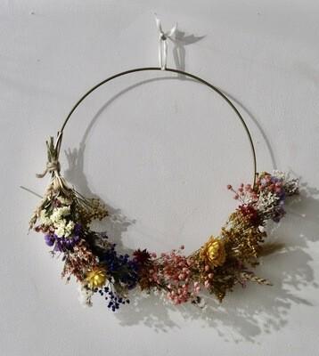 Atelier Couronne fleurie / 1h30