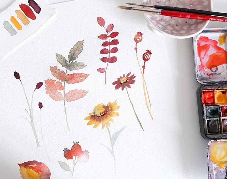 Atelier Rive Gauche x Leaubleue Feuilles et Fleurs d'automne 2h30