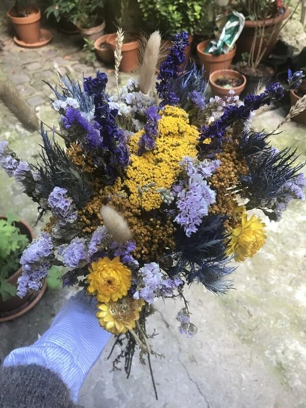Atelier Bouquet de fleurs séchées 1h30