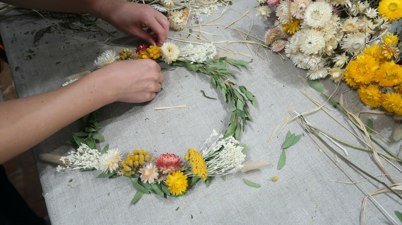 Atelier Couronne fleurie / 2H à 3H
