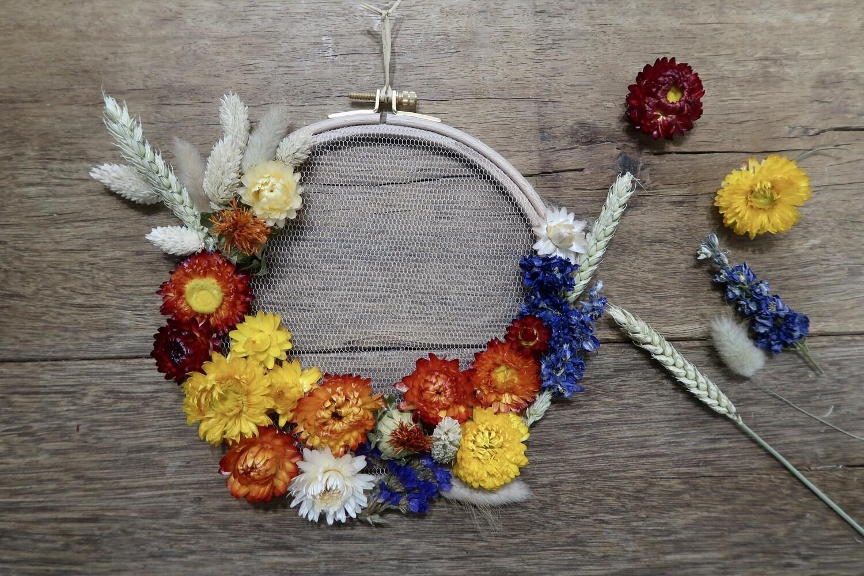 Tambour fleuri Ava