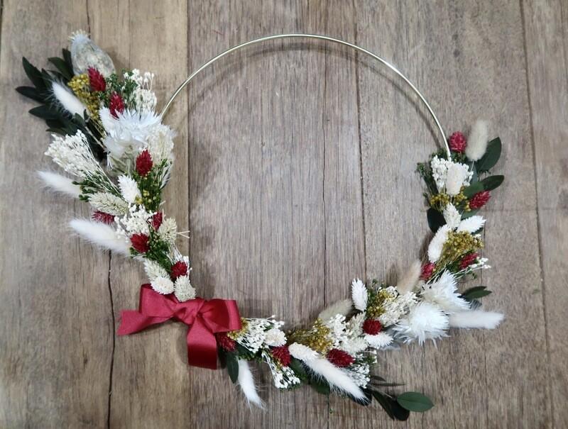 Couronne Noël 30 cm (VENDUE)