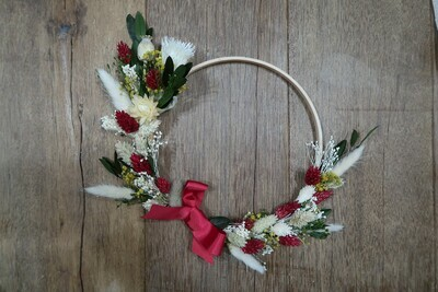 Couronne Noël 20 cm (VENDUE)