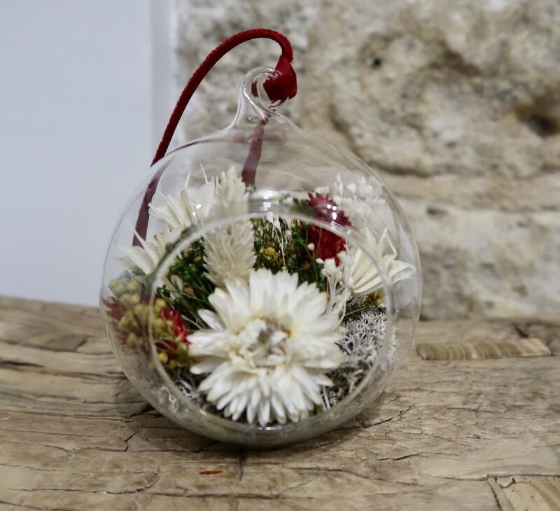 Boule de Noël Rouge (VENDUE)