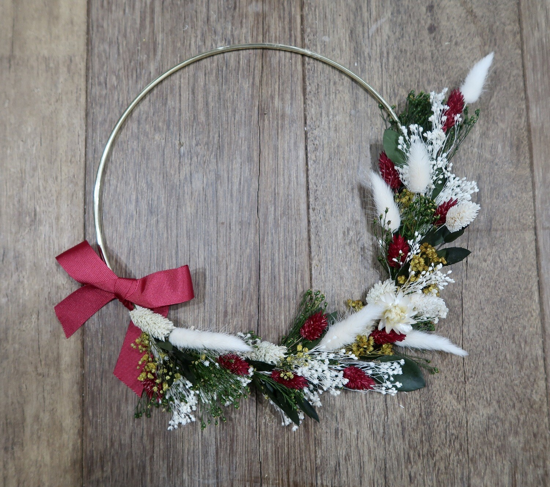 Couronne Noël 25 cm