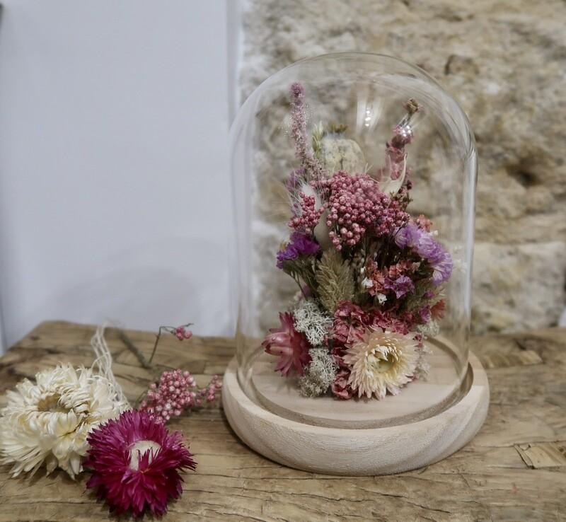 Cloche La Vie en Rose taille M