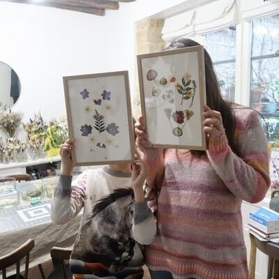 Atelier Herbier parent/enfant, 2H