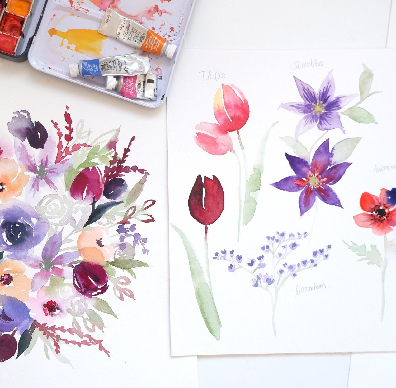 Atelier Rive Gauche x Leaubleue : Perfectionnement fleurs 2h30 (7 MAI)
