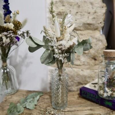 Petit Bouquet Syracuse avec son vase Art Déco