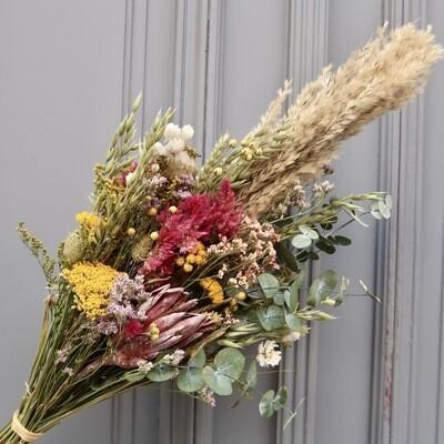 Bouquet  Bari M avec pampa