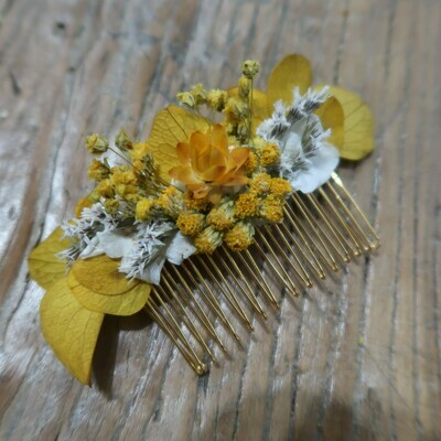Peigne fleuri Capri
