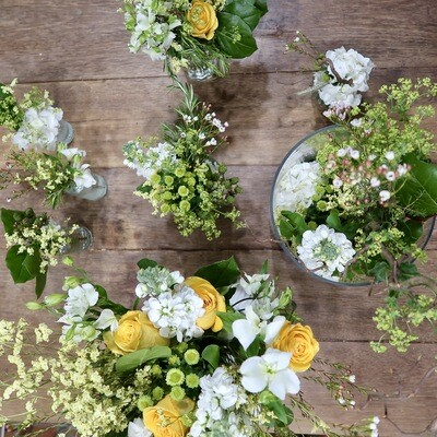 Atelier Bouquet de Fleurs Fraîches (2h)