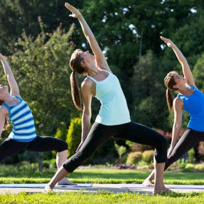 Tuesday 515pm Flow with Jillian - OUTDOORS