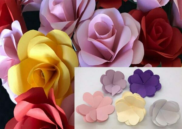 Origami Paper Rose DIY KIT