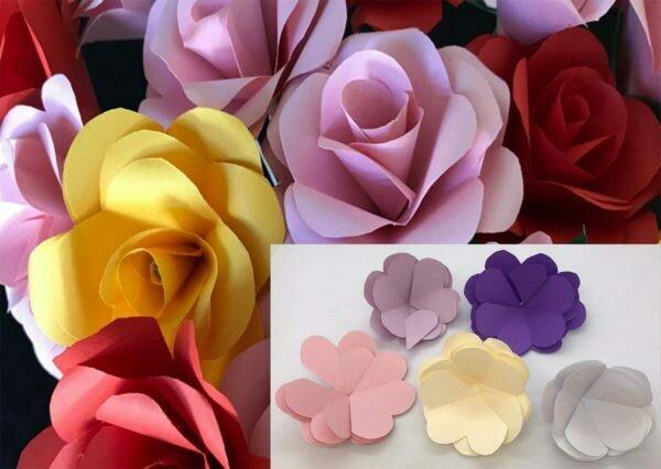 Origami Paper Rose DIY KIT