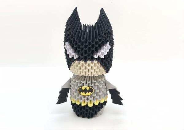 3D Origami Superhero