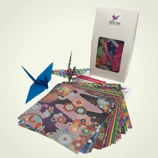 Origami Crane Kit – in Display Gift Box