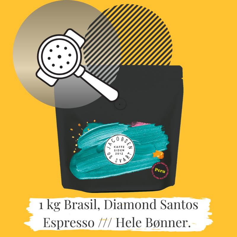 Brasil Espresso Diamond Santos 1 kg