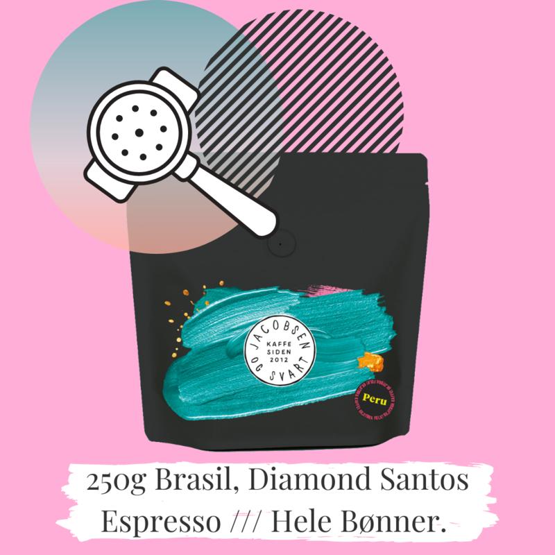 Brasil Espresso Diamond Santos 250 g