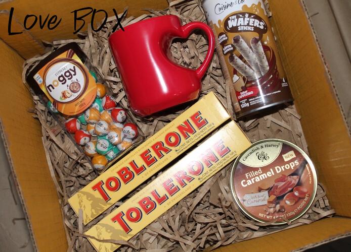 Love and Chocolate BOX