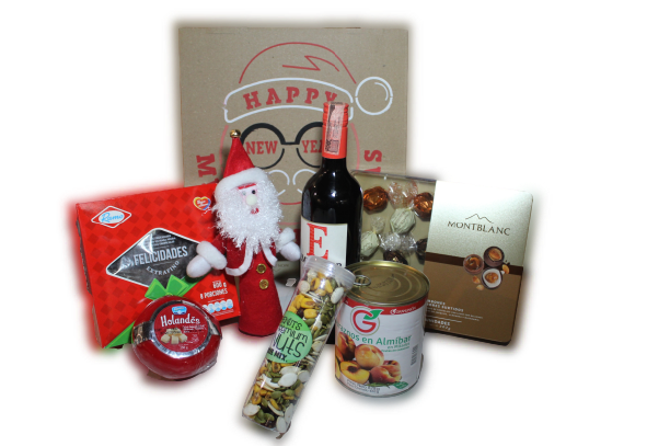 Caja Feliz Navidad