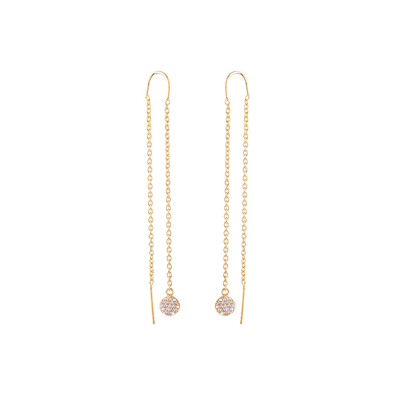 Elliotte Threader Earrings