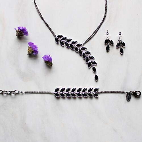Birch Collection Necklace, earrings, & Bracelet