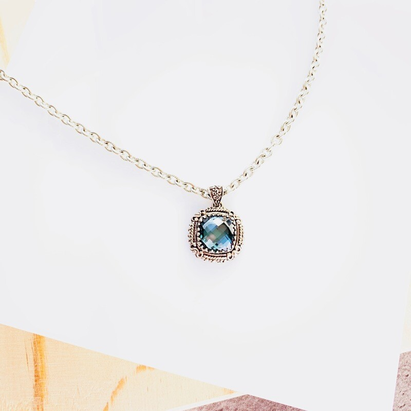 Isabella Alexandrite Quartz Necklace